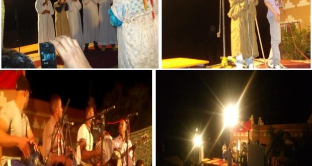 إختتام فعاليات الانشطة الثقافية و الرياضية و الفنية إحتفالا بعيد الاضحى المبارك بدوار أركيون إقليم زاكورة المغرب-4