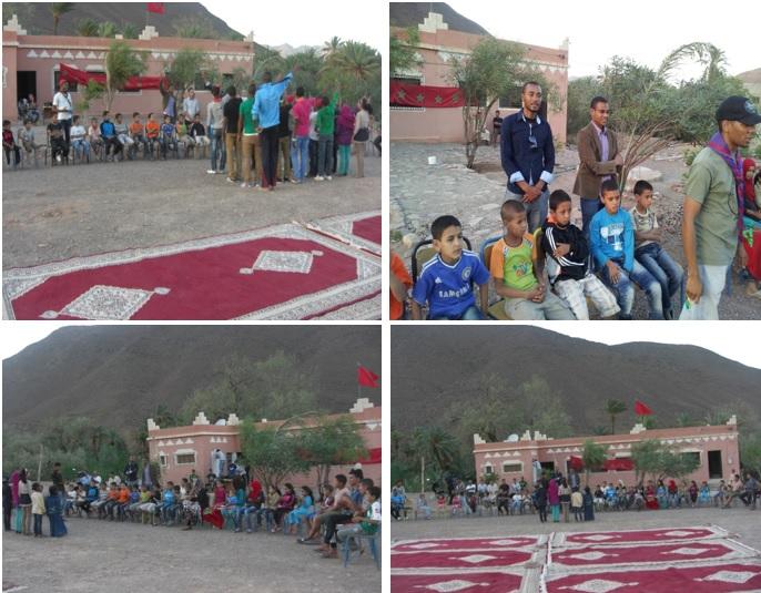 إختتام فعاليات الانشطة الثقافية و الرياضية و الفنية إحتفالا بعيد الاضحى المبارك بدوار أركيون إقليم زاكورة المغرب-6