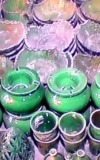 إبداع الفخّار الأخضر بتمكروت