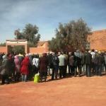 بيان التنسيق الإقليمي لأساتذة سد الخصاص بومالن دادس و تنغير