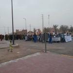 manifestation a mhamid elghizlane contre la descrimination (3)