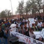manifestation a mhamid elghizlane contre la descrimination (5)