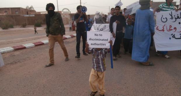 manifestation a mhamid elghizlane contre la descrimination (9)