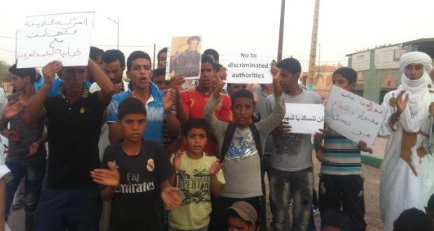 manifestation etudiantes mhamid