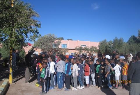 قافلة التعبئة المجتمعية لتمدرس الأطفال في وضعية إعاقة بجهة سوس ماسة درعة  تحط الرحال بإقليم زاكورة