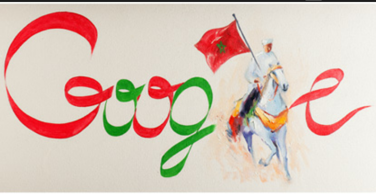 fete d'independance par google