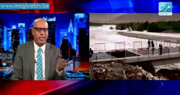 """""""تجيني"""" والفيضانات بالمغرب"""