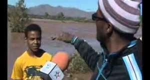 حالة الطرق ومخلفات الفيضانات ودفن الضحايا باقليم زاكورة
