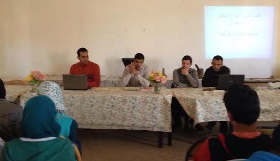 الأسبوع الثقافي الذي نظم في ثانوية سيدي عمرو تازارين-1