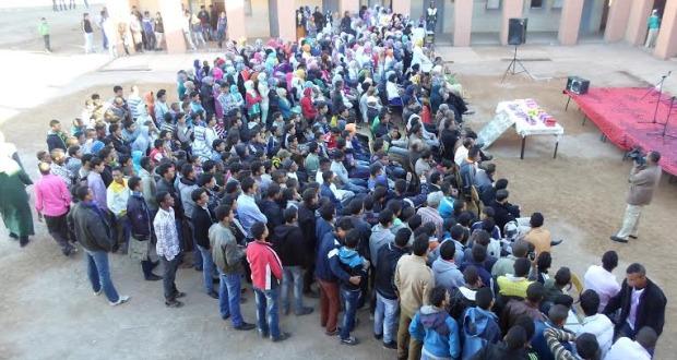 الأسبوع الثقافي الذي نظم في ثانوية سيدي عمرو تازارين-2