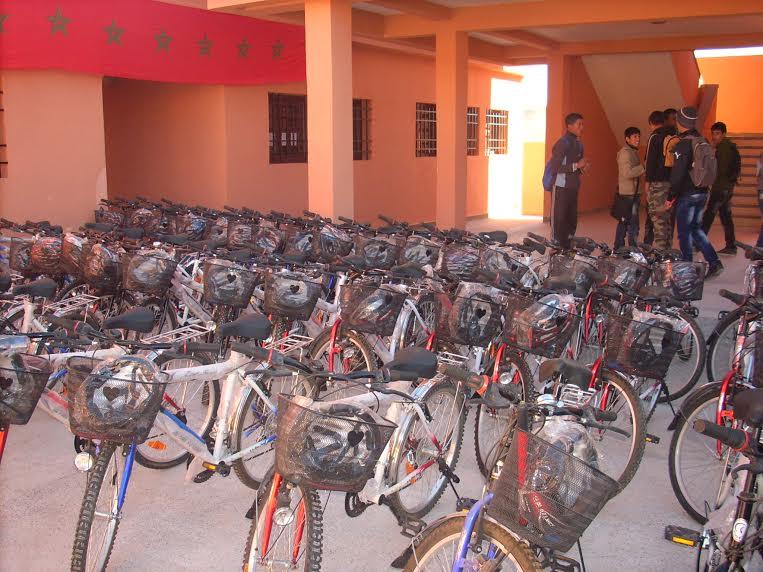 توزيع دراجات هوائية على التلاميذ  خطوة أخرى للحد من الهدر المدرسي -3