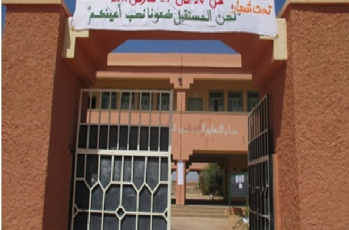 ثانوية سيدي صالح التأهيلية تحتضن نشاطا حول السلامة الطرقية