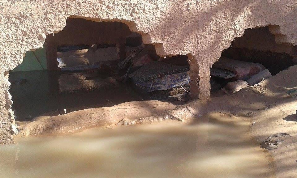 فيضانات الشكاكة بامحاميد الغزلان (2)