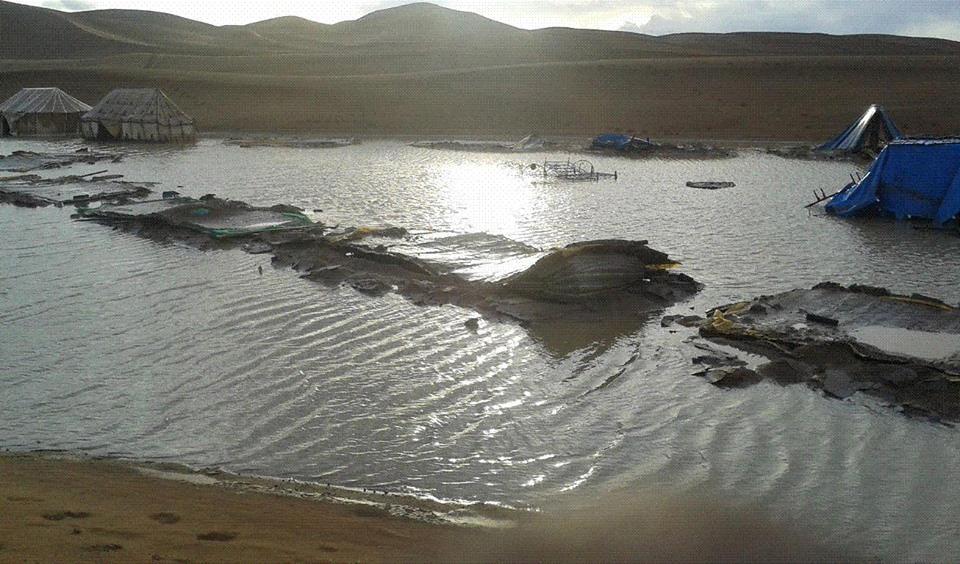 فيضانات الشكاكة بامحاميد الغزلان (3)