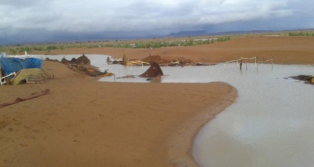 فيضانات الشكاكة بامحاميد الغزلان (5)