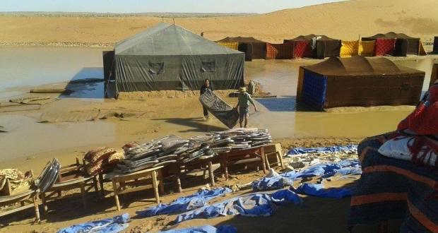 فيضانات الشكاكة بامحاميد الغزلان (7)