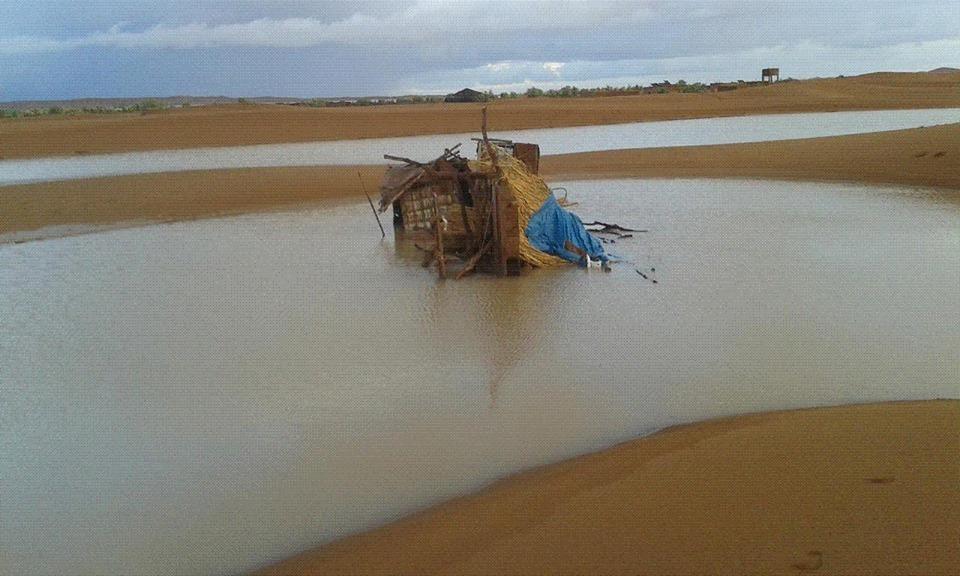 فيضانات الشكاكة بامحاميد الغزلان (9)