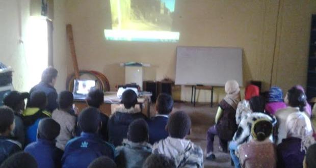 مجموعة مدارس بني علي تنظم أنشطة متنوعة بمناسبة أسبوع التعاون المدرسي