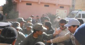 AMDH زاكورة تدين الإعتداء على المناضلة النقابية وأساتذة سد الخصاص