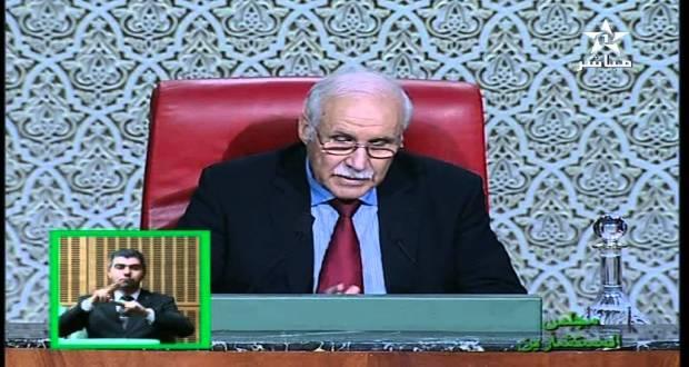 رئيس مجلس المستشارين: تلاوة الفاتحة على عبد الإله بنكيران