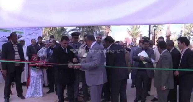 عامل اقليم زاكورة يفتتح النسخة الثانية للمعرض الاقليمي للصناعة التقليدية