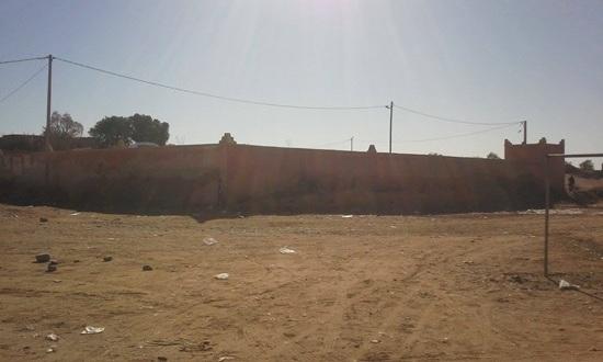 les dechets – Commune de Mhamid Elghizlne -1