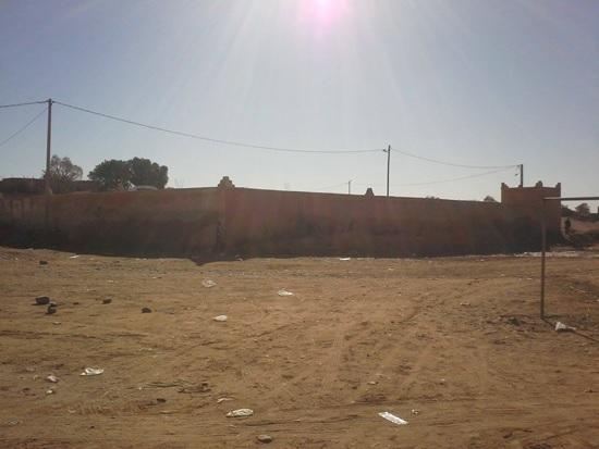 les dechets - Commune de Mhamid Elghizlne -1