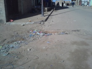 les dechets - Commune de Mhamid Elghizlne -2