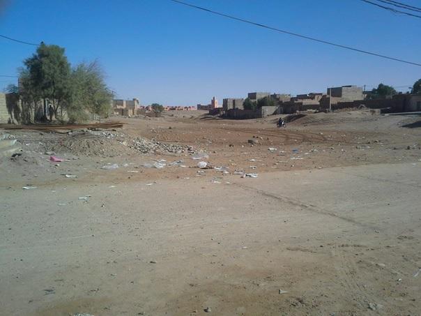 les dechets - Commune de Mhamid Elghizlne -3