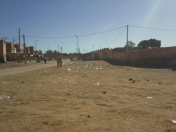 les dechets - Commune de Mhamid Elghizlne -4