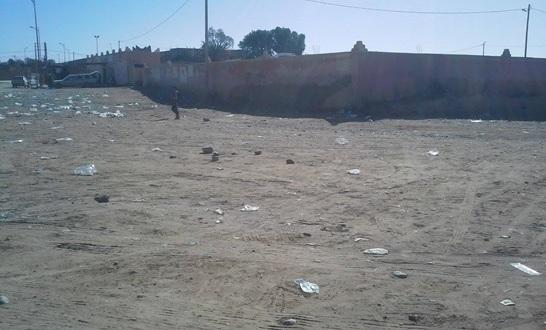 les dechets – Commune de Mhamid Elghizlne