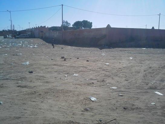 les dechets - Commune de Mhamid Elghizlne