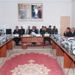 إجتماع للمجلس الاقليمي لزاكورة في دورته العادية لشهر يناير 2015
