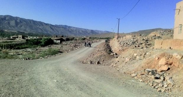 Rue provinciale n 1519 – relie commune Mazguita et Afra
