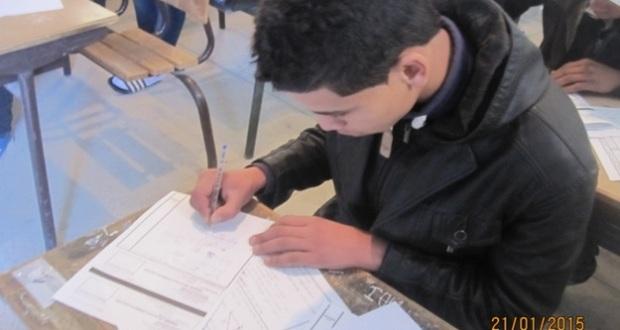 debut des examens de 3eme annee – Zagora -1