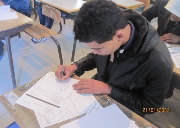 debut des examens de 3eme annee - Zagora -1