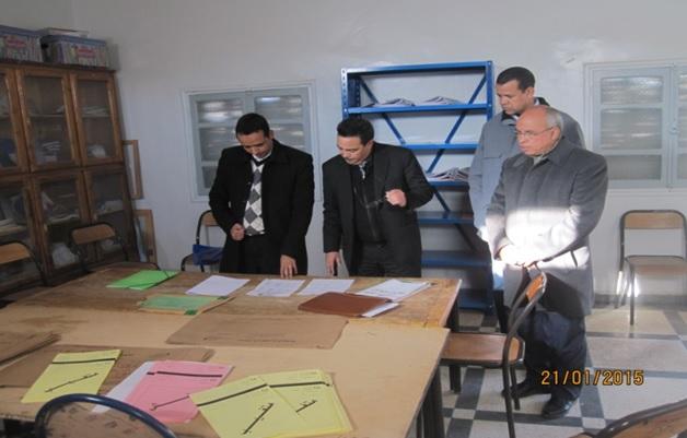 debut des examens de 3eme annee - Zagora -2