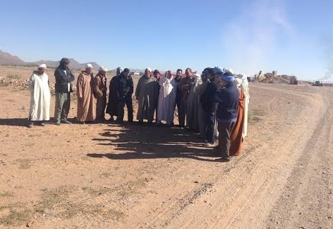 بيان أفراد من قبيلة مسوفة اجتجاجا على تواجد آلة تكسير الحجارة بأراضِ سلالية