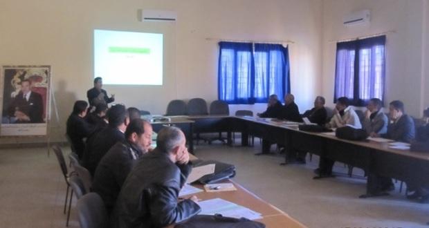 المصادقة على البرنامج السنوي الإقليمي لمشاريع المؤسسات بنيابة زاكورة