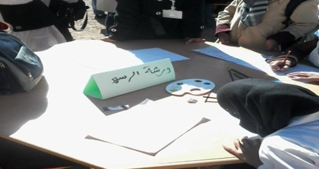 الثانوية التأهيلية أولاد يحيى لكراير تحتفل بالأسبوع الوطني للسلامة الطرقية–2