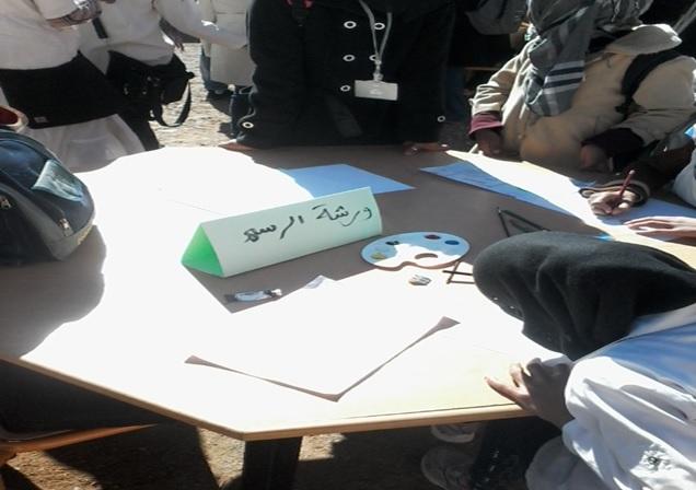 الثانوية التأهيلية أولاد يحيى لكراير تحتفل بالأسبوع الوطني للسلامة الطرقية--2