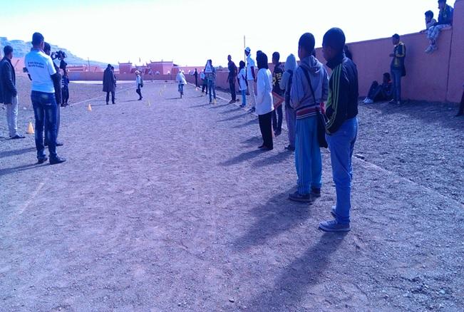 الثانوية التأهيلية أولاد يحيى لكراير تحتفل بالأسبوع الوطني للسلامة الطرقية--3
