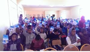 الثانوية التأهيلية أولاد يحيى لكراير تحتفل بالأسبوع الوطني للسلامة الطرقية--5