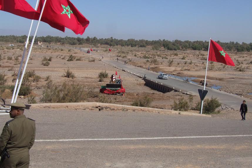 الشروع في  بناء أربع قناطر كبرى على وادي درعة باقليم زاكورة بغلاف مالي يفوق 7 ملايير سنتيما-1
