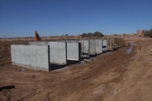 الشروع في  بناء أربع قناطر كبرى على وادي درعة باقليم زاكورة بغلاف مالي يفوق 7 ملايير سنتيما-4