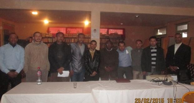 تقرير حول نشاط حقوقي بثانوية سيدي صالح – تاكونيت – 2