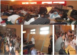 تقرير حول نشاط حقوقي بثانوية سيدي صالح - تاكونيت - 3