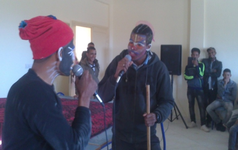 تقرير عن الأيام الثقافية التي نشطتها جمعية الشباب للتنمية-3