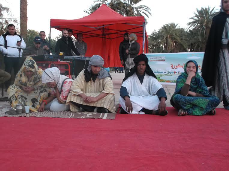 جمعية الفينيق و مسرح الحلقة بمنتزه زاكورة حول زواج القاصرات-2