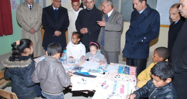 عامل الإقليم في زيارة لمركزية النقوب بمناسبة اليوم الوطني للسلامة الطرقية